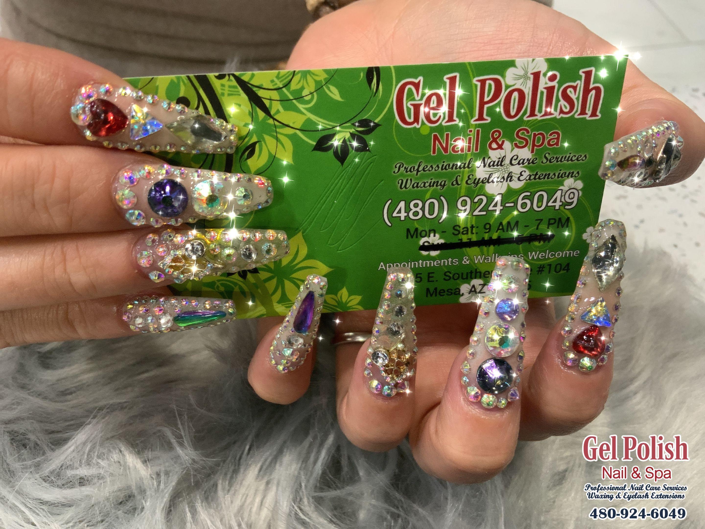 Gel Polish Nails And Spa Nail Salon Mesa Az 85206 Nail Spa Gel Polish Gel Nail Polish