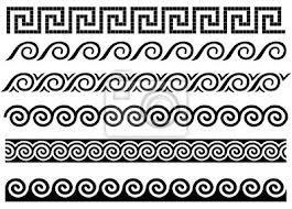 Griechische Muster Grenze Griechischen Ornament 10