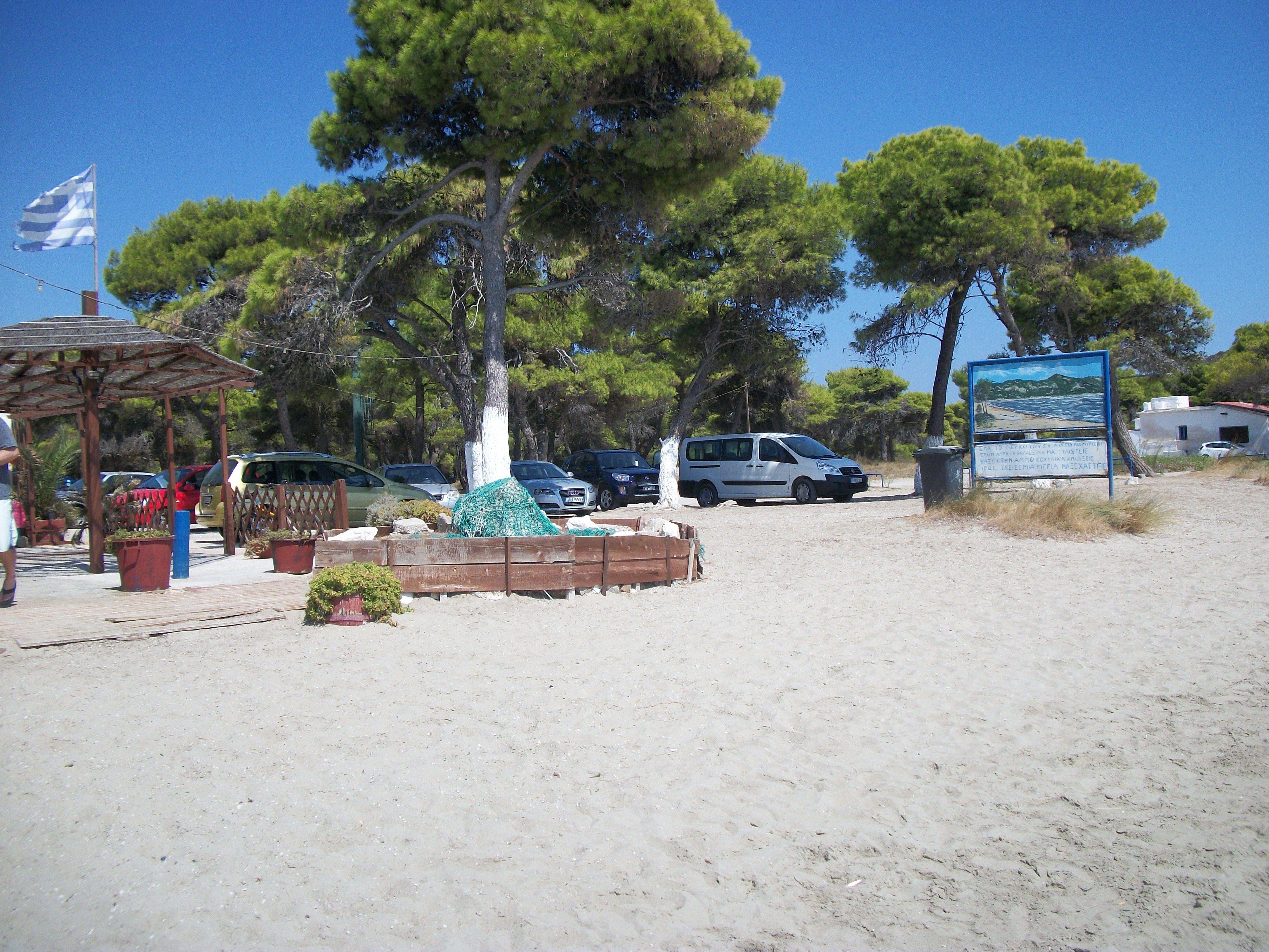 Skiniasos beach
