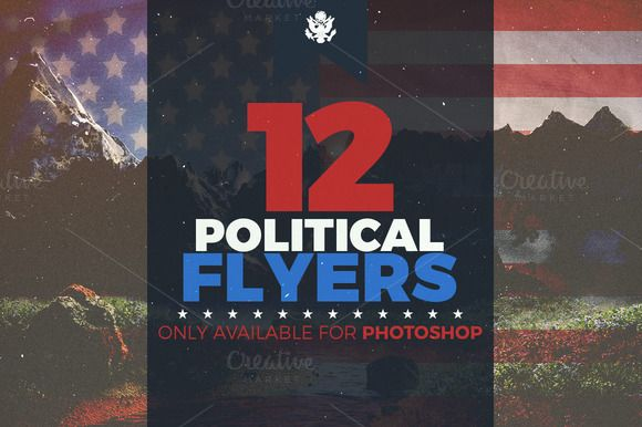 Ultimate Political Flyer Bundle By Seraphimchris On Creative