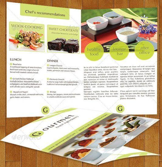 17 Desain Brosur Flyer Menu Katering Catering Menu Brosur Desain Brosur