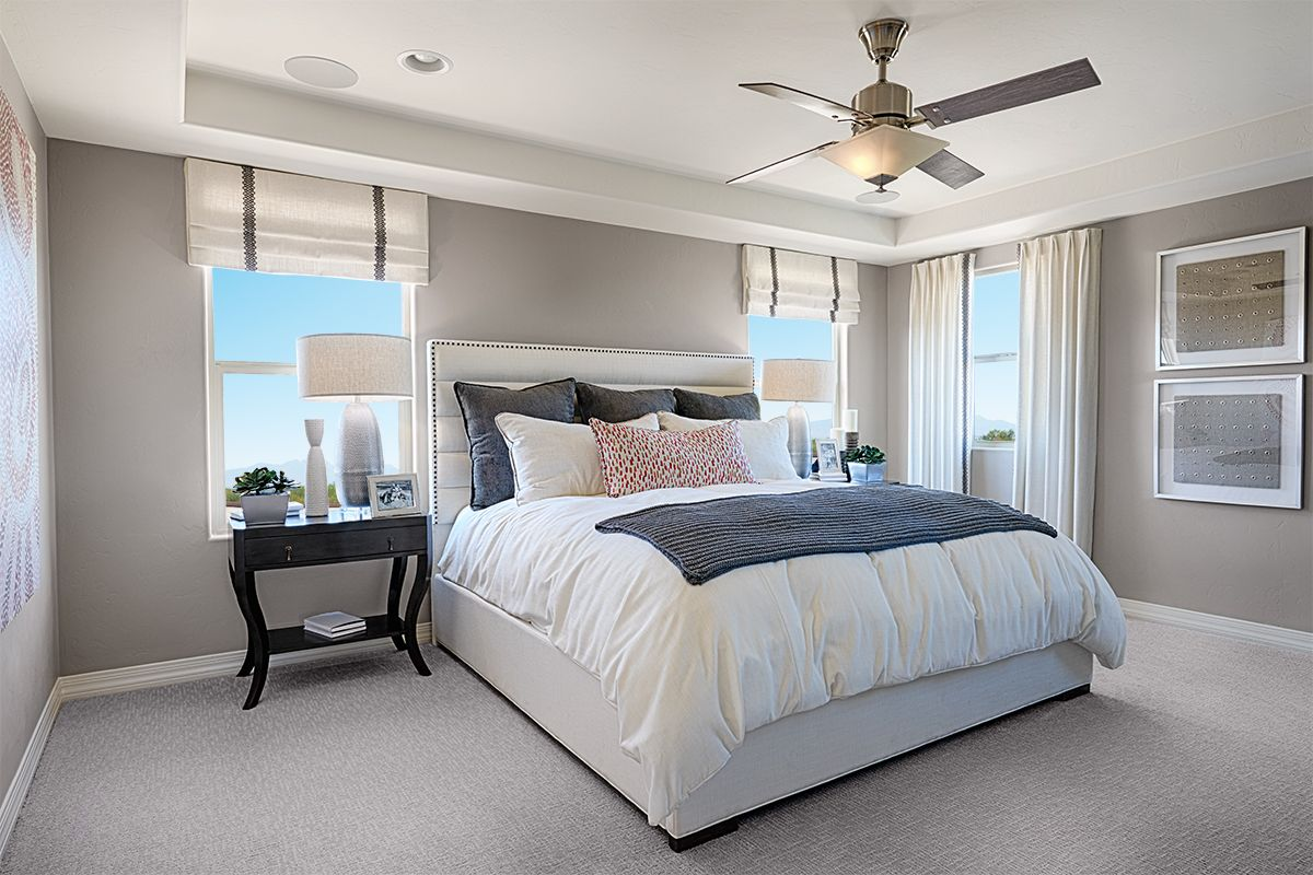 Sweet dreams can be achieved here  Hopewell model home master