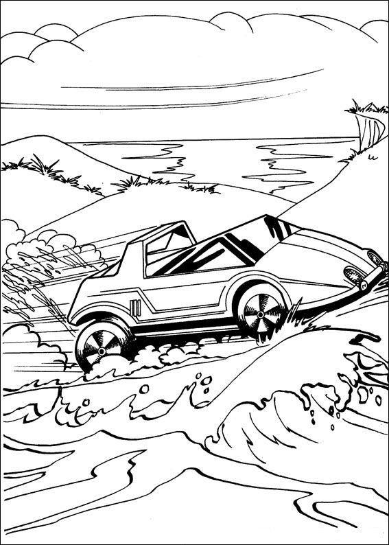 Dibujos para Colorear Hot Wheels 16  Dibujos para colorear para