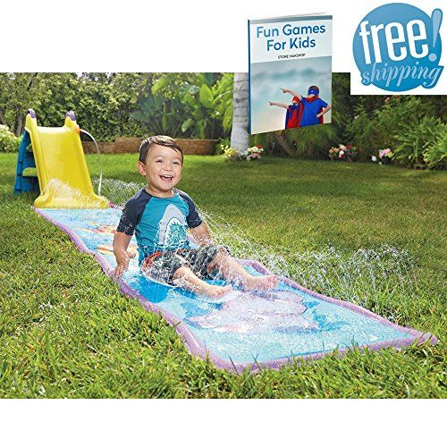 Blow Up Water Slide For Kids Infatable Activity Center ...