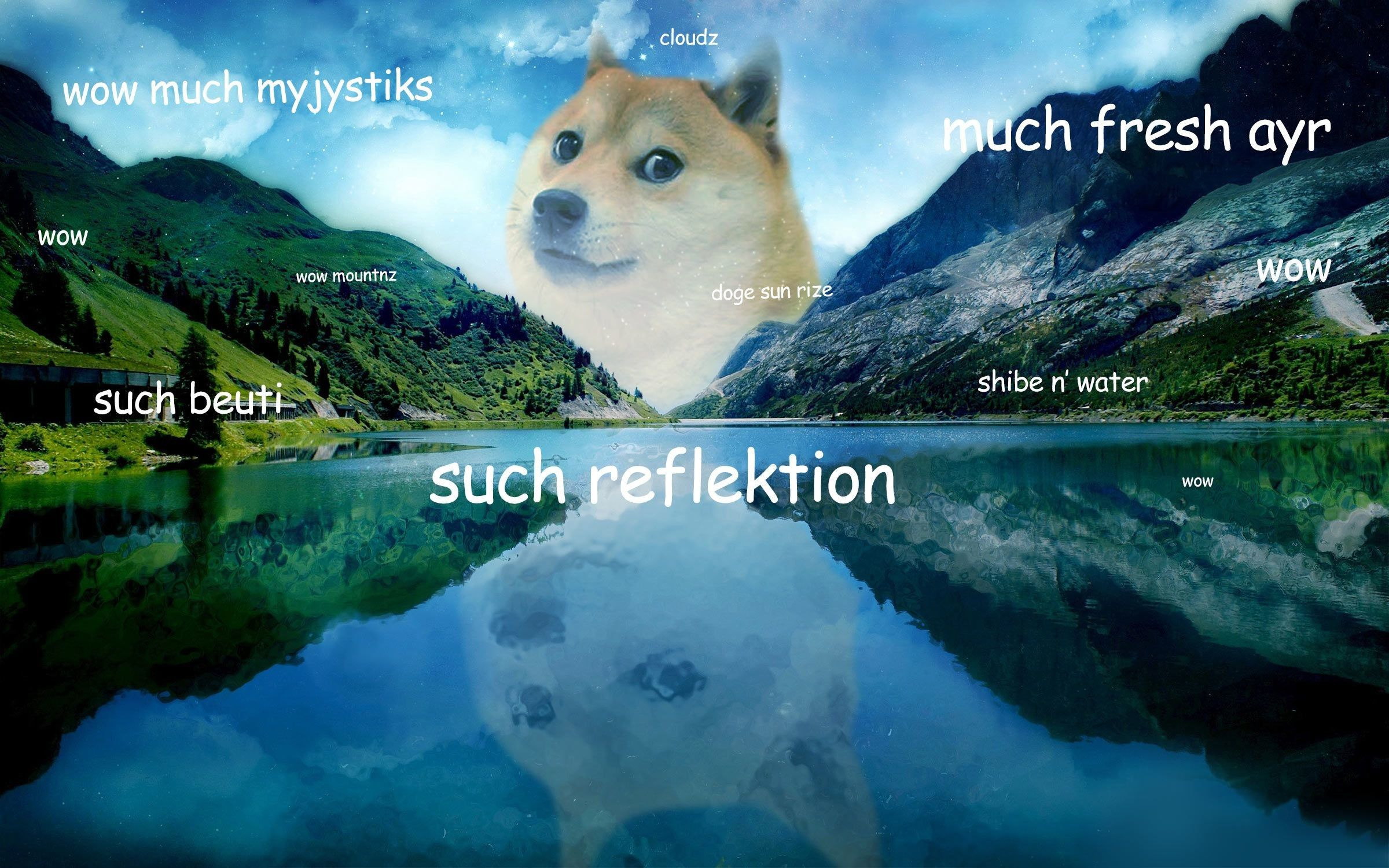 76 Doge Meme Wallpapers on WallpaperPlay Doge, Doge meme