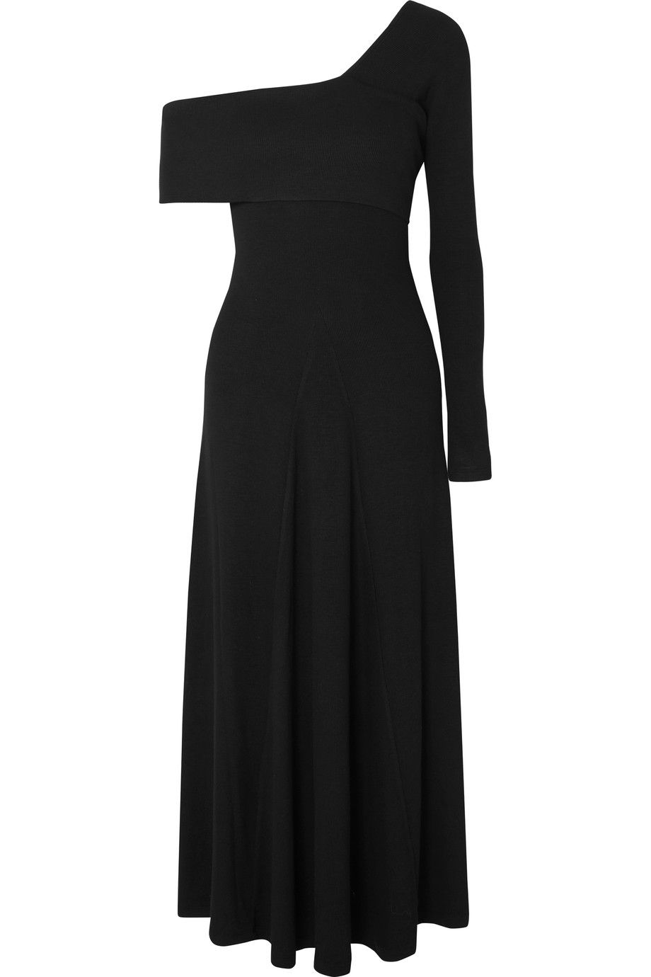 With Mastercard Online Cheap Real Authentic Alora Asymmetric Ribbed Stretch-knit Maxi Dress - Black Beaufille Cheap Sale Very Cheap Discount Fashionable Clearance 100% Authentic HVLZLzZdrK