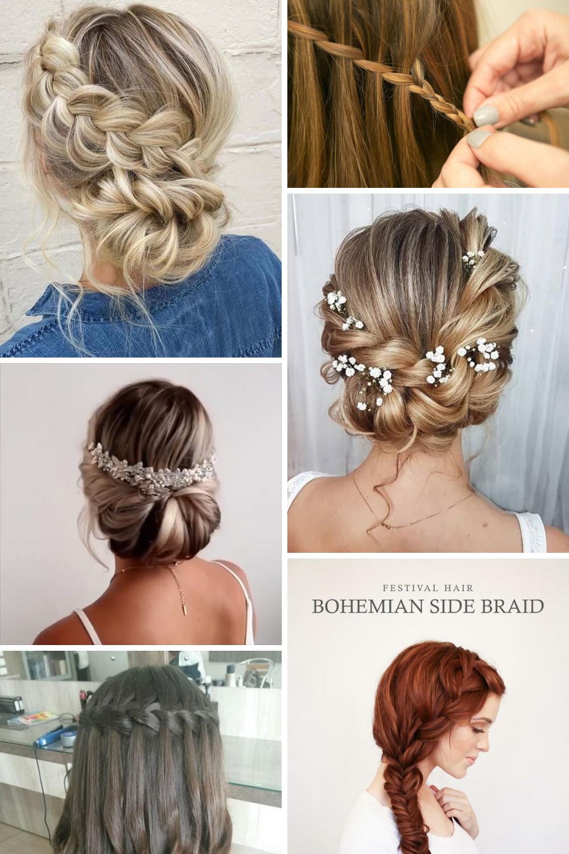28 Wonderful Wedding Hairstyles With Braids Simple And Easy Hair Styles Easy Braids Easy Hairstyles