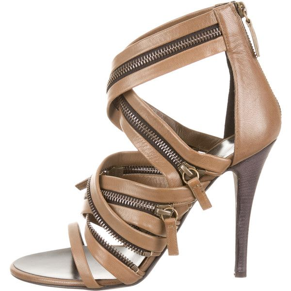 Pre-owned - LEATHER SANDALS Giuseppe Zanotti D3vW7dD