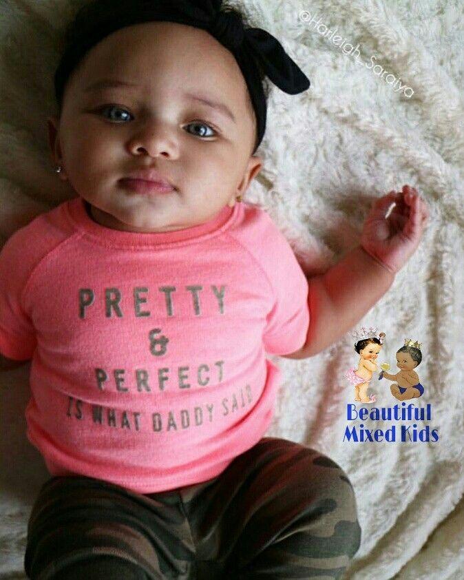 Saraiya - 5 Months • Afghani & African American | Mixed ...