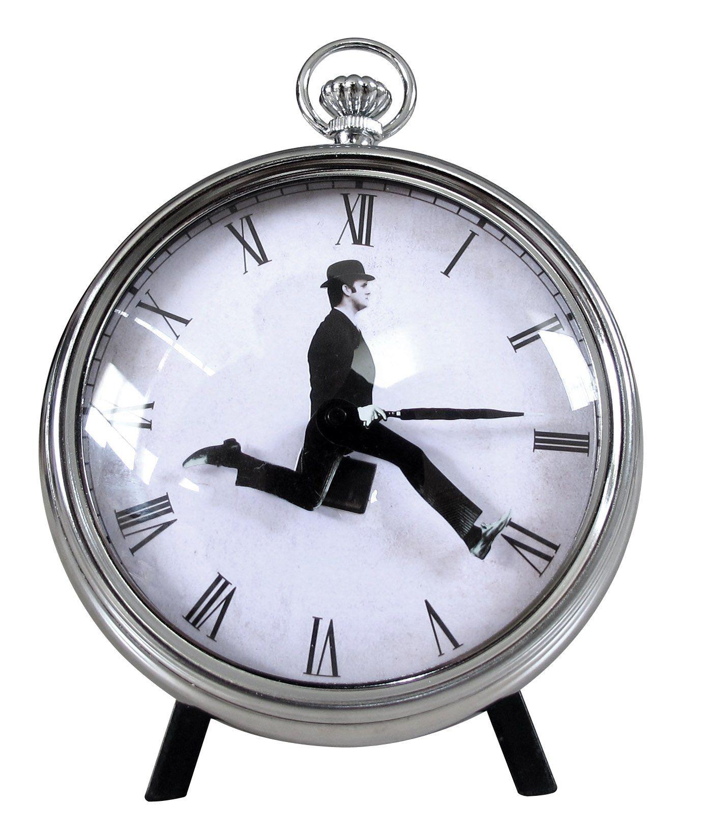 Amazon Com Ministry Of Silly Walks Pocket Watch Desk Wall Clock Monty Python Clock Wall Clock Monty Python