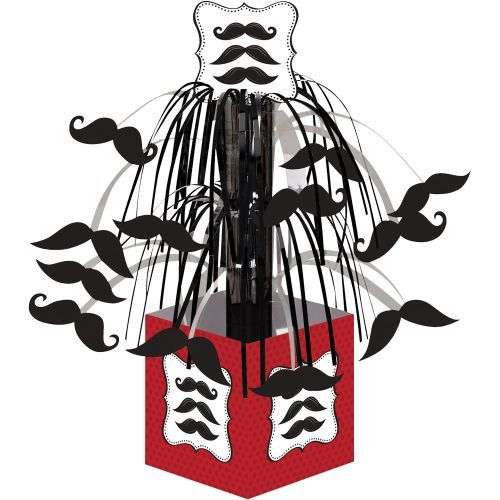 Mustache Madness Centerpiece Decoration (Each) - Centerpieces & other Decorations from Birthday in a Box