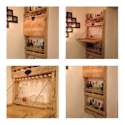 meuble bar palette diy repurposing materials pinterest bar and pallets. Black Bedroom Furniture Sets. Home Design Ideas