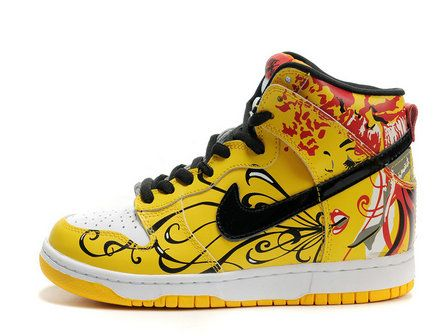 sale retailer 1c28c af174 Nike Dunk High Women Custom Life and Death
