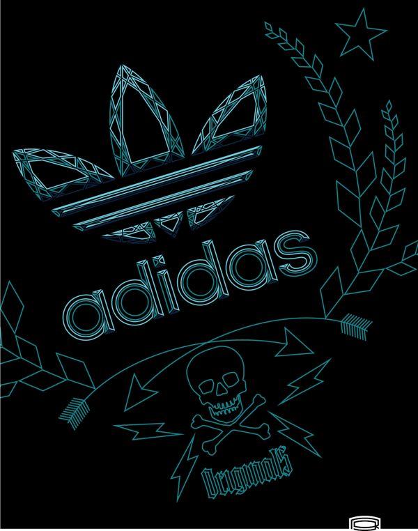 Adidas Originals camiseta diseño Adidas Pinterest Adidas, camisa