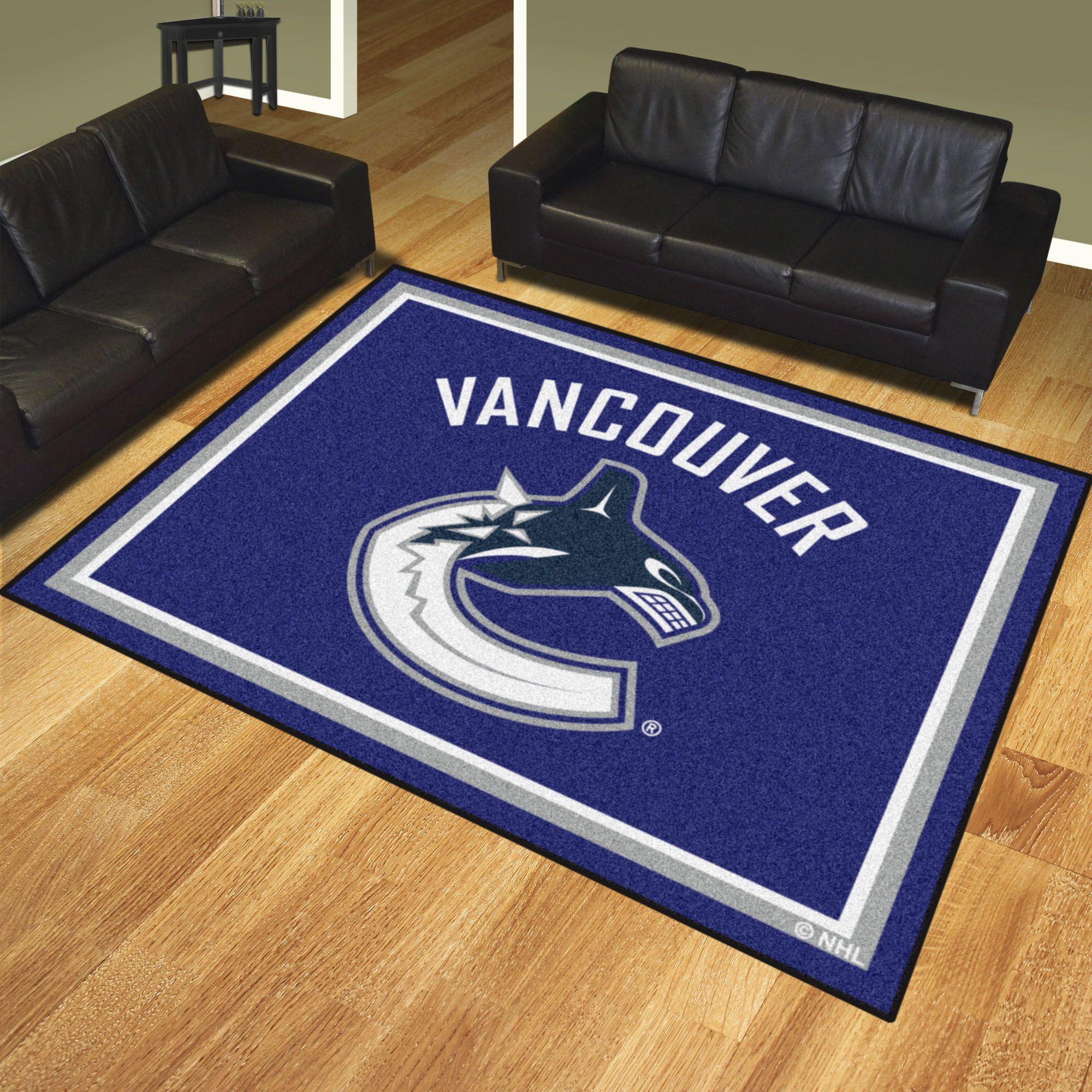Vancouver Canucks 8x10 Rug