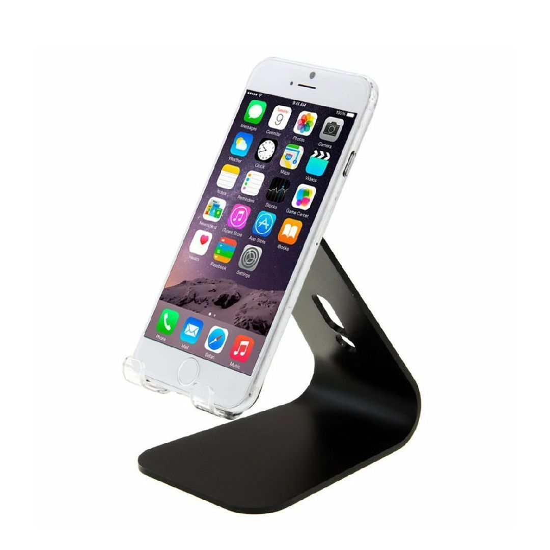 Cell Phone Office Desk Display Stand Holder Home Iphone Android Docking Station