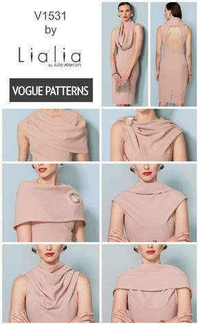 This new dress pattern from Lialia for Vogue Patterns features a ...