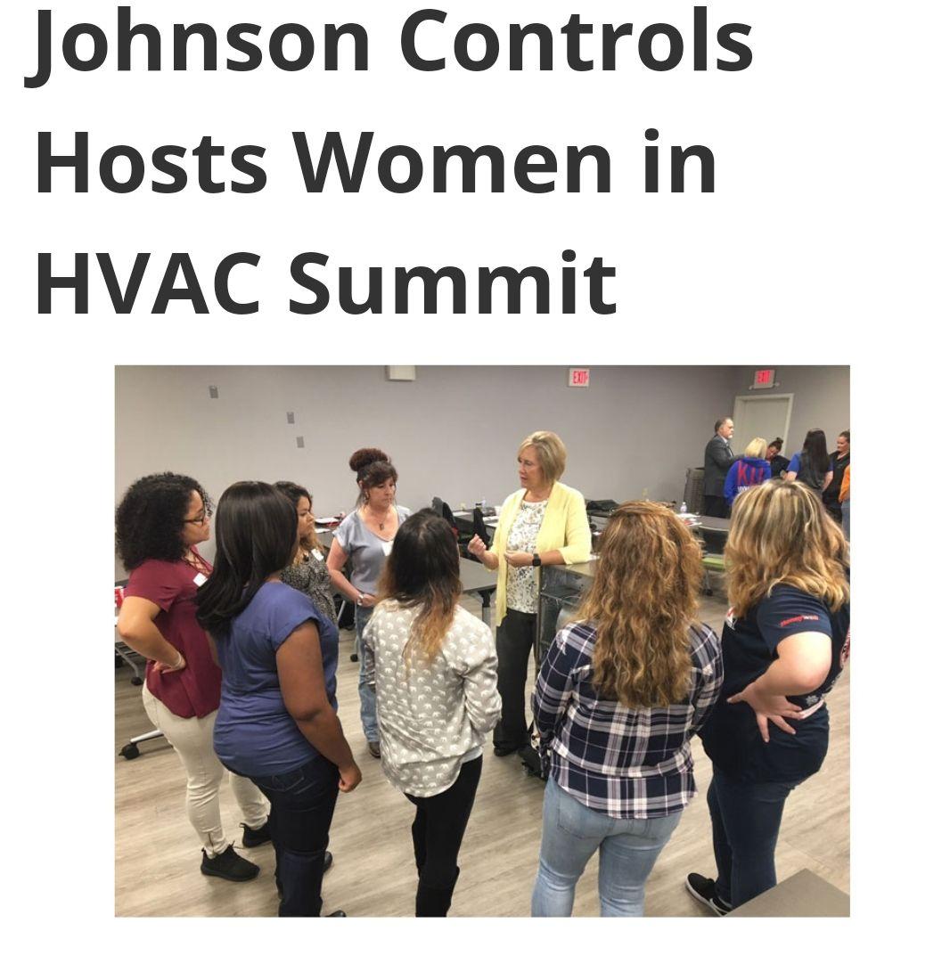 Johnson controls hosts women in hvac summit air