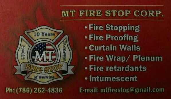 We Do Firestopping And Insulation If U Need My Services Call Me Or