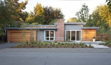Modern Exterior Midcentury Design Ideas Pictures Remodel And