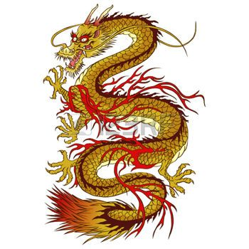stock photo tatouage dragon chinois dessin tatouage. Black Bedroom Furniture Sets. Home Design Ideas