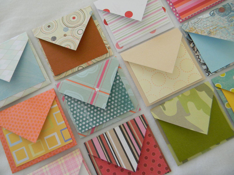 cute mini envelopes