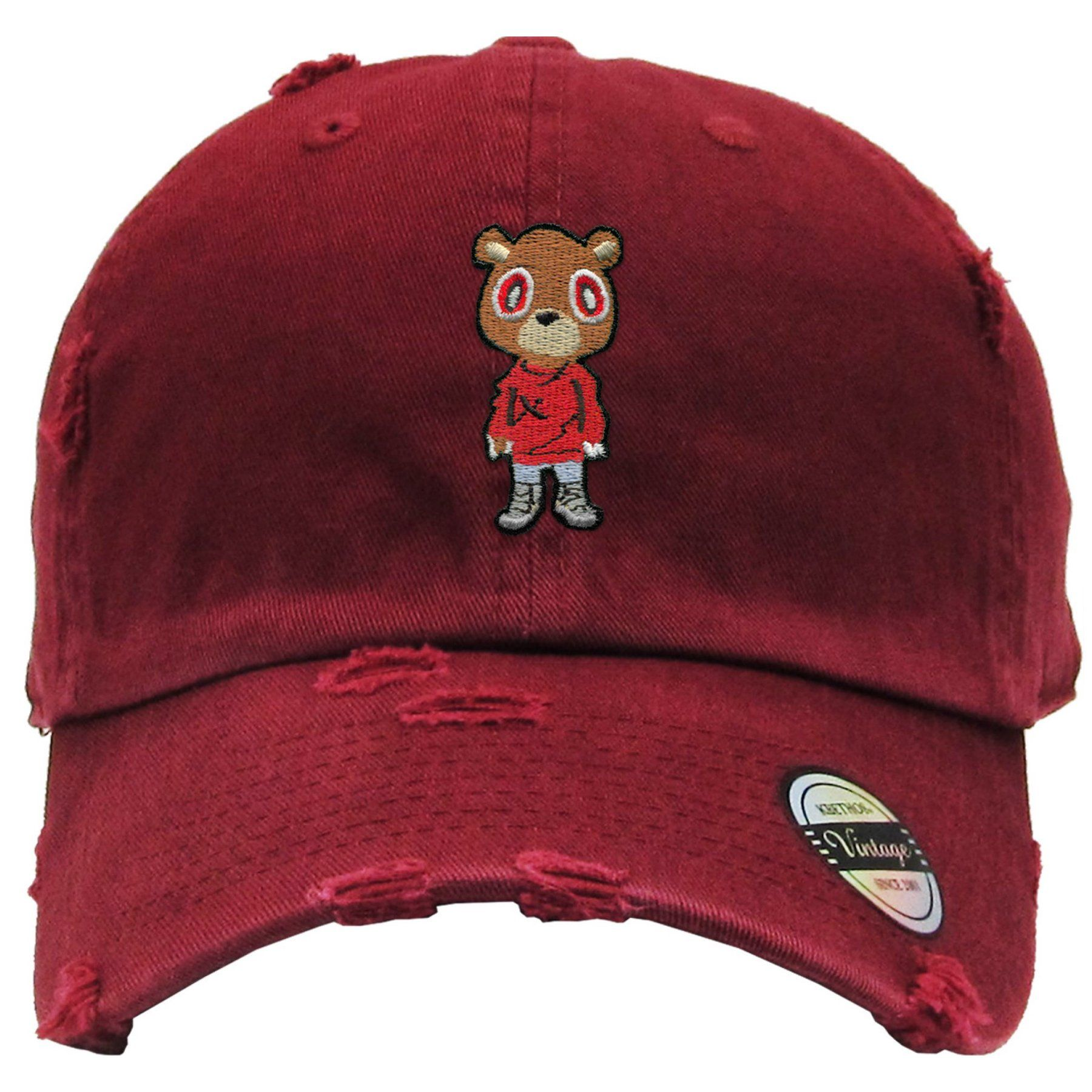 59fdf66606400d Angry Baws Red Dad Hat