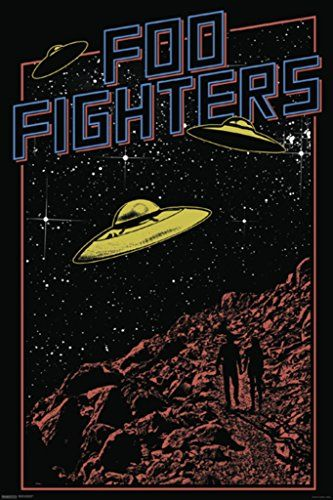 Foo Fighters Poster Print 24 x 36 >>> Continue to the product at the