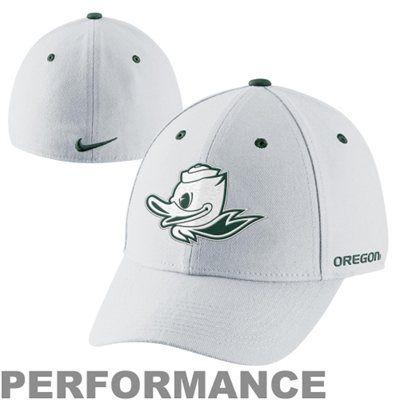 9d856b28 Nike Oregon Ducks Fan Legacy 91 Swoosh Flex Performance Hat -  White....smallest size possible