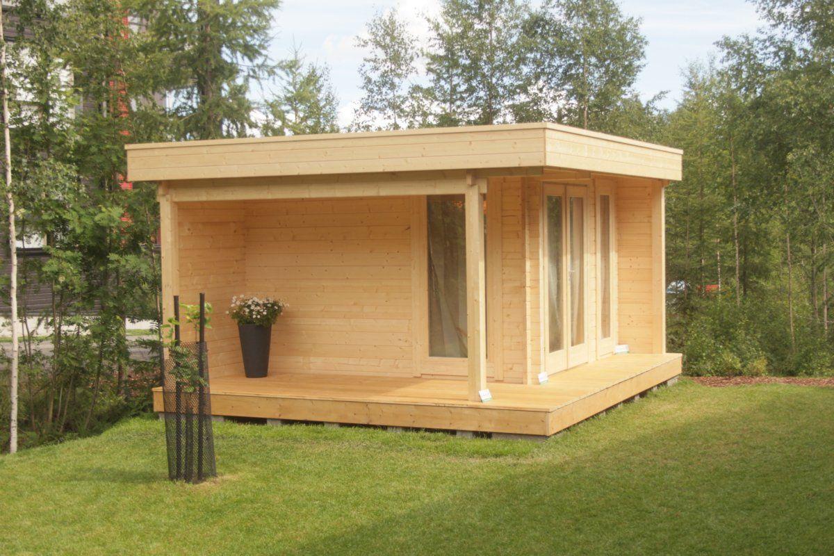 """Gartenhaus Mit Lounge gartenhaus """"mini hansa lounge"""" wurde geliefert und zusammengebaut"""