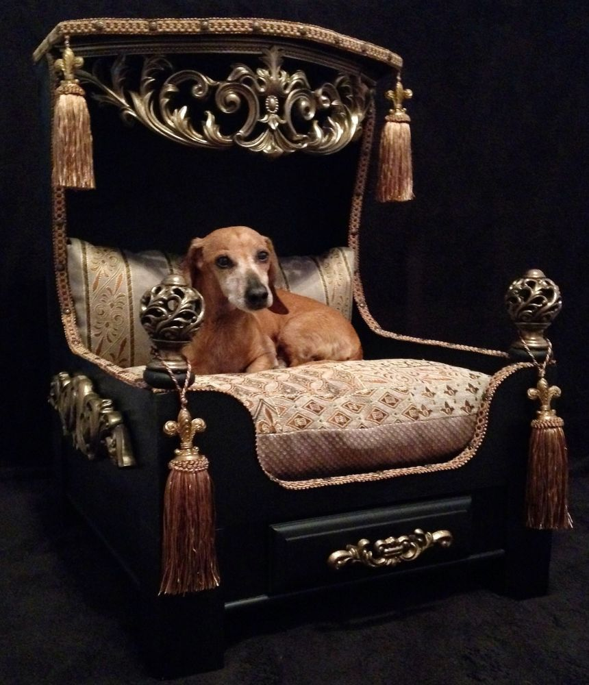 New Luxury Platform Dog Bed. WOW! Dog bed luxury, Diy