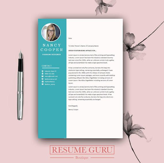 Professional Resume Template Cover Letter for MS Word Best - best of cover letter sample download word