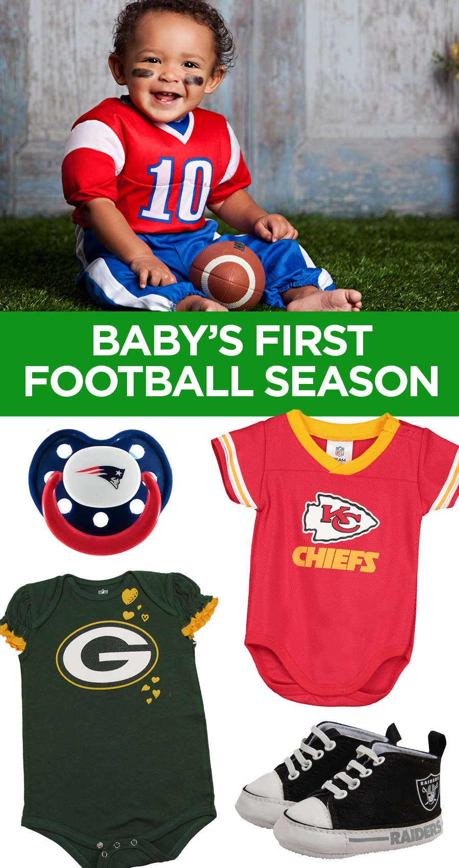 039bba402af3b Find the sweetest gear for your smallest fans! Rep your favorite team with NFL  Shop and click to save with our exclusive coupons!