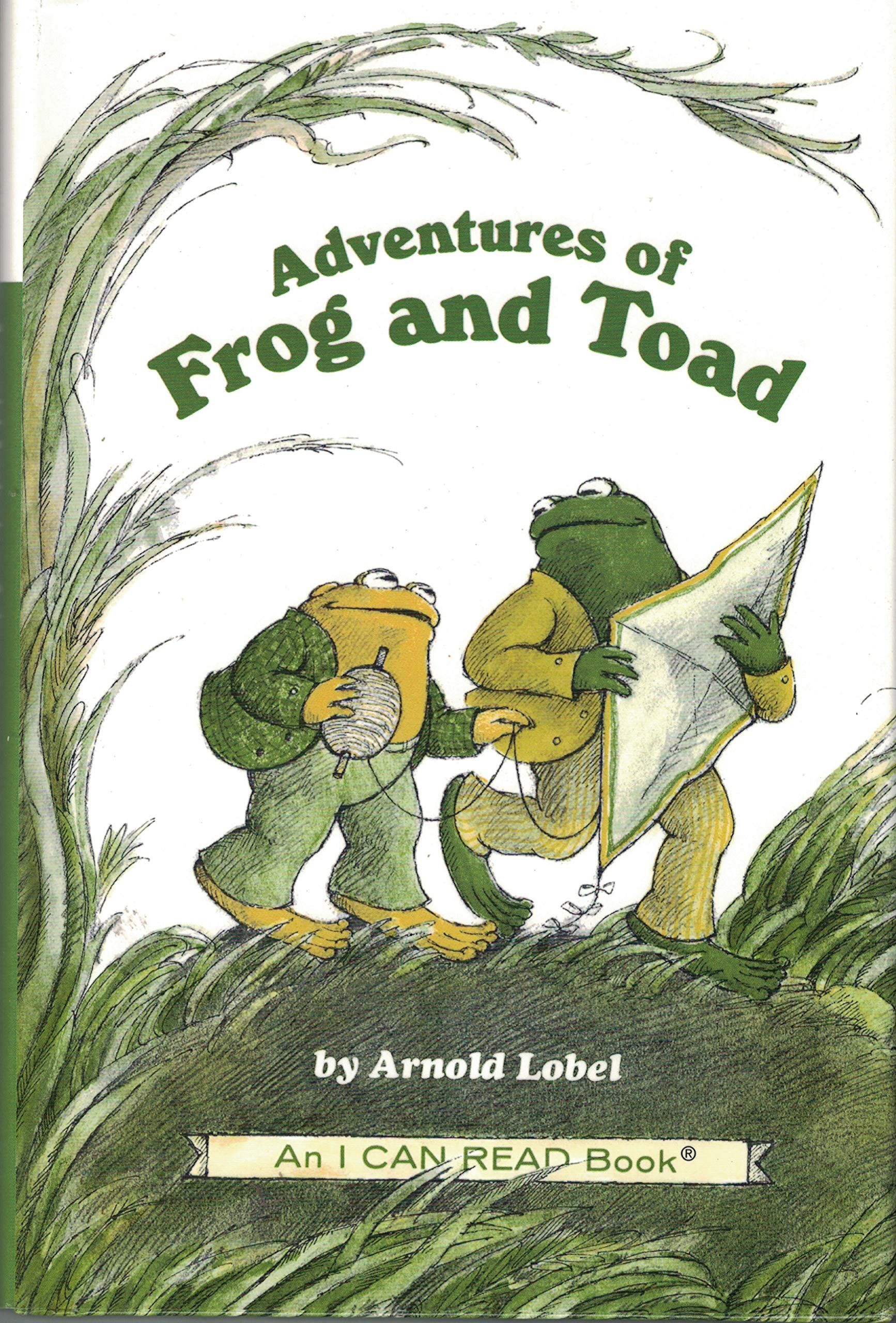 This Book Contains Several Adventures That Frog And Toad