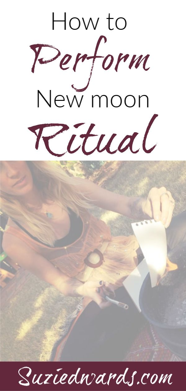 New Moon Cleansing Ritual - Suzi Edwards #newmoonritual