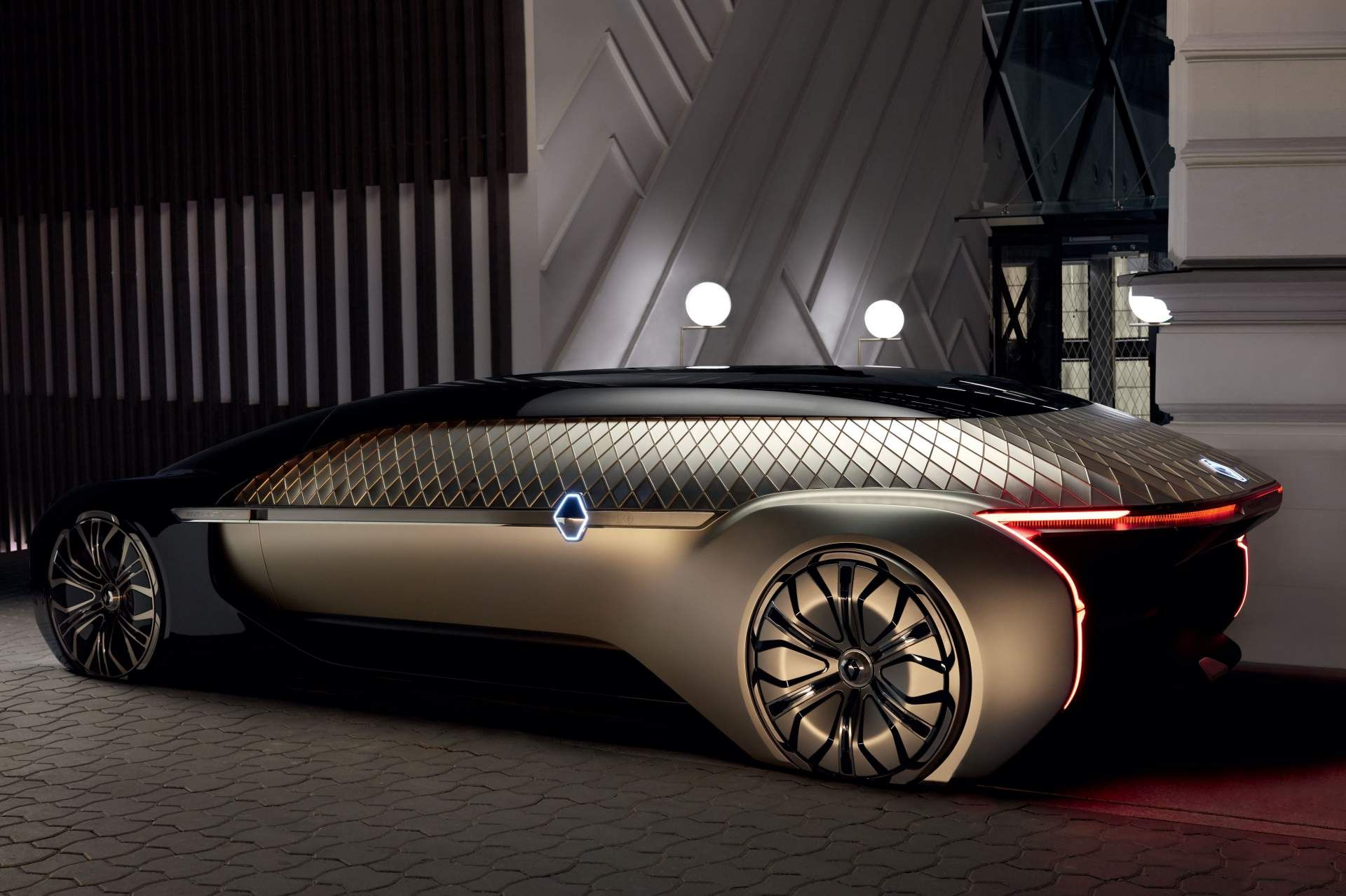 Renault Ez Ultimo Concept Envisions Self Driving Luxury Lounge Carscoops Concept Cars Renault Futuristic Cars
