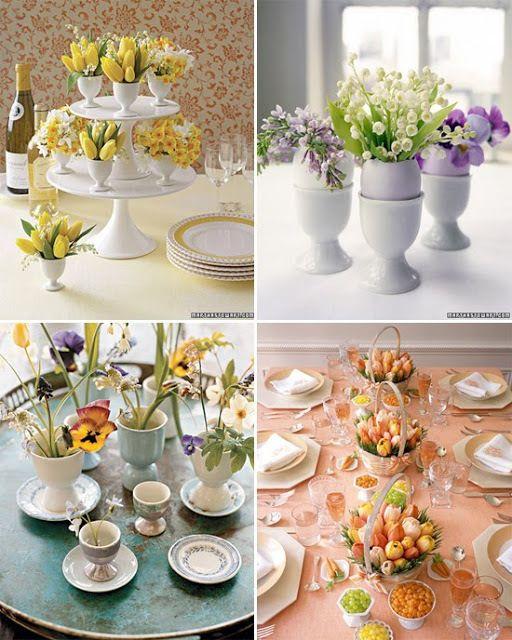 Spring Wedding Centerpiece Ideas: >Cheap Easter Wedding Ideas