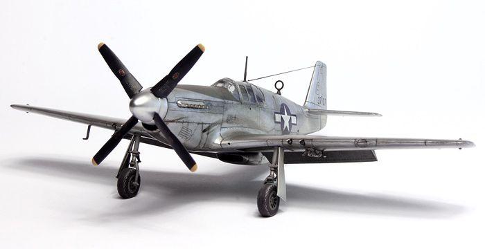 ICM 1/48 scale P-51B Mustang by Sasha Miloshevic: Image