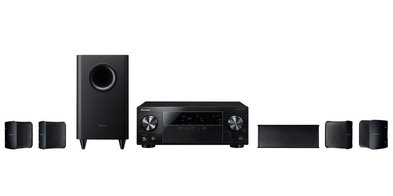 HTP-072 - High Power 5.1 AV Receiver with 5.1 Speaker Package | Pioneer Electronics USA