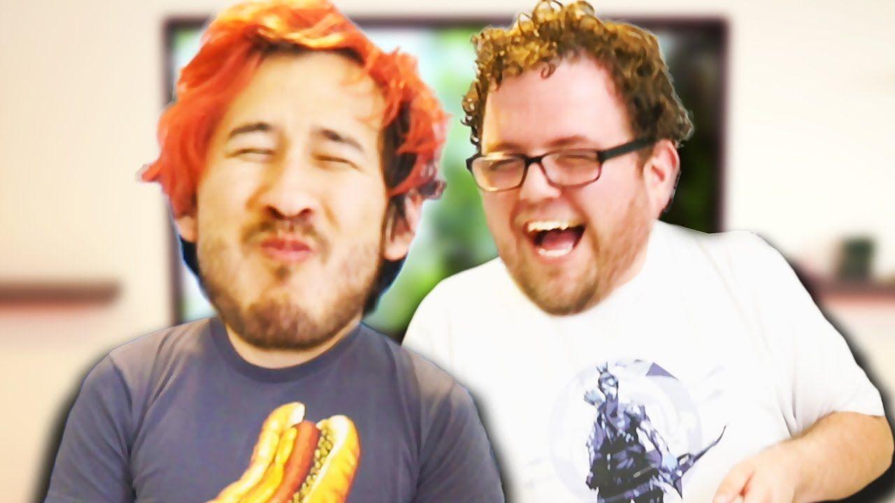DON'T LAUGH CHALLENGE #5   Markiplier videos and fanart