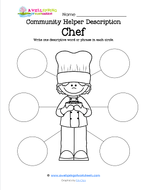 Grade Level Worksheets  Community Helpers Job Description And