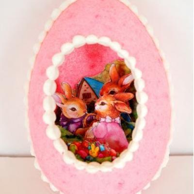 DIY Panoramic Easter Eggs
