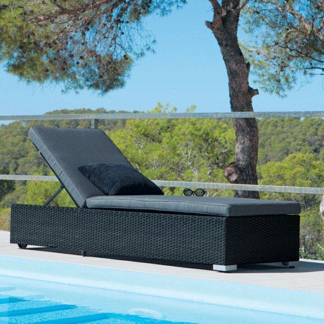 bain de soleil accrocheur dans le jardin- 33 designs cool