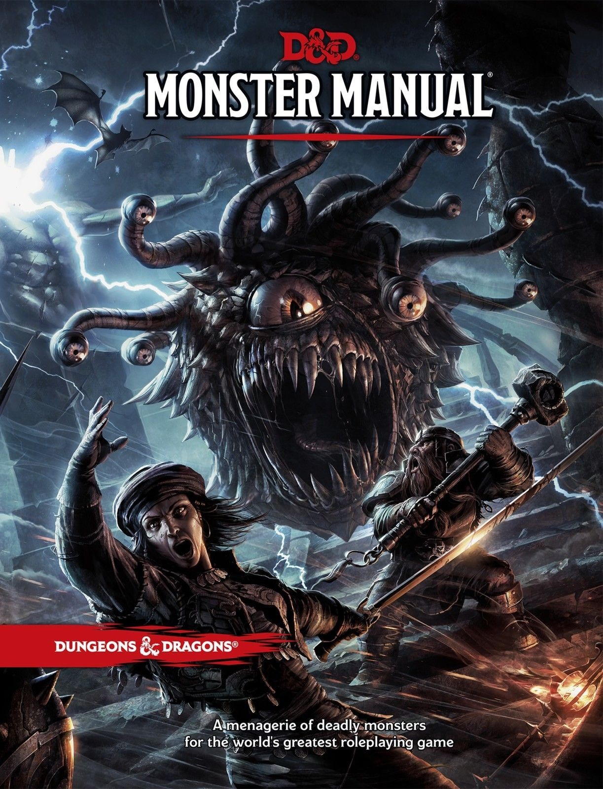 Monster Manuals 158711: 1-Pc Wizards Of The Coast Dungeons Dragons: Monster  Manual (Hardcover) -> BUY IT NOW ONLY: $47.56 on #eBay #monster #manuals ...
