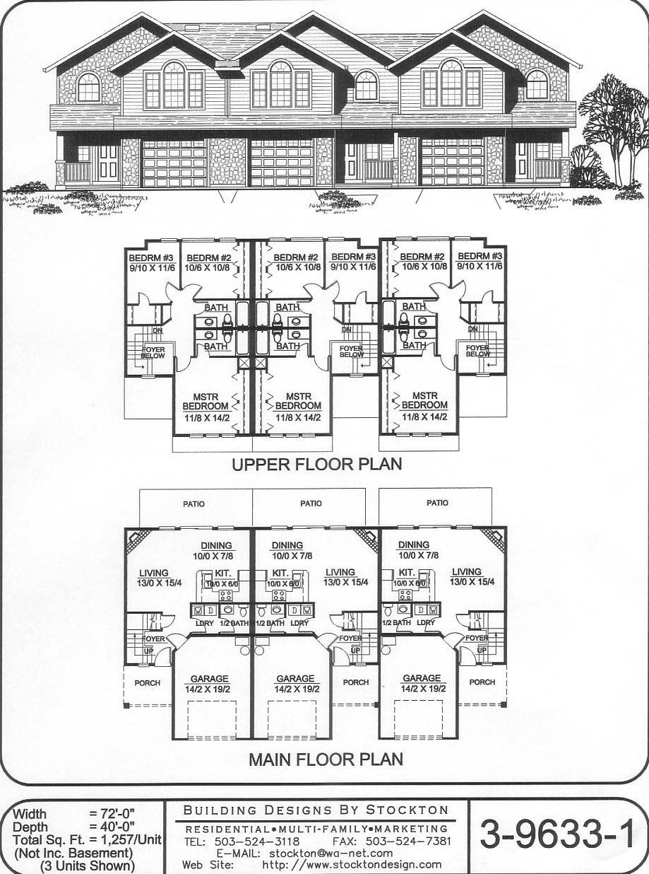 Building Designs by Stockton: Plan # 3-9633-1 | circle house ...