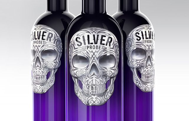 Silver Probee Vodka on Packaging of the World - Creative Package Design Gallery