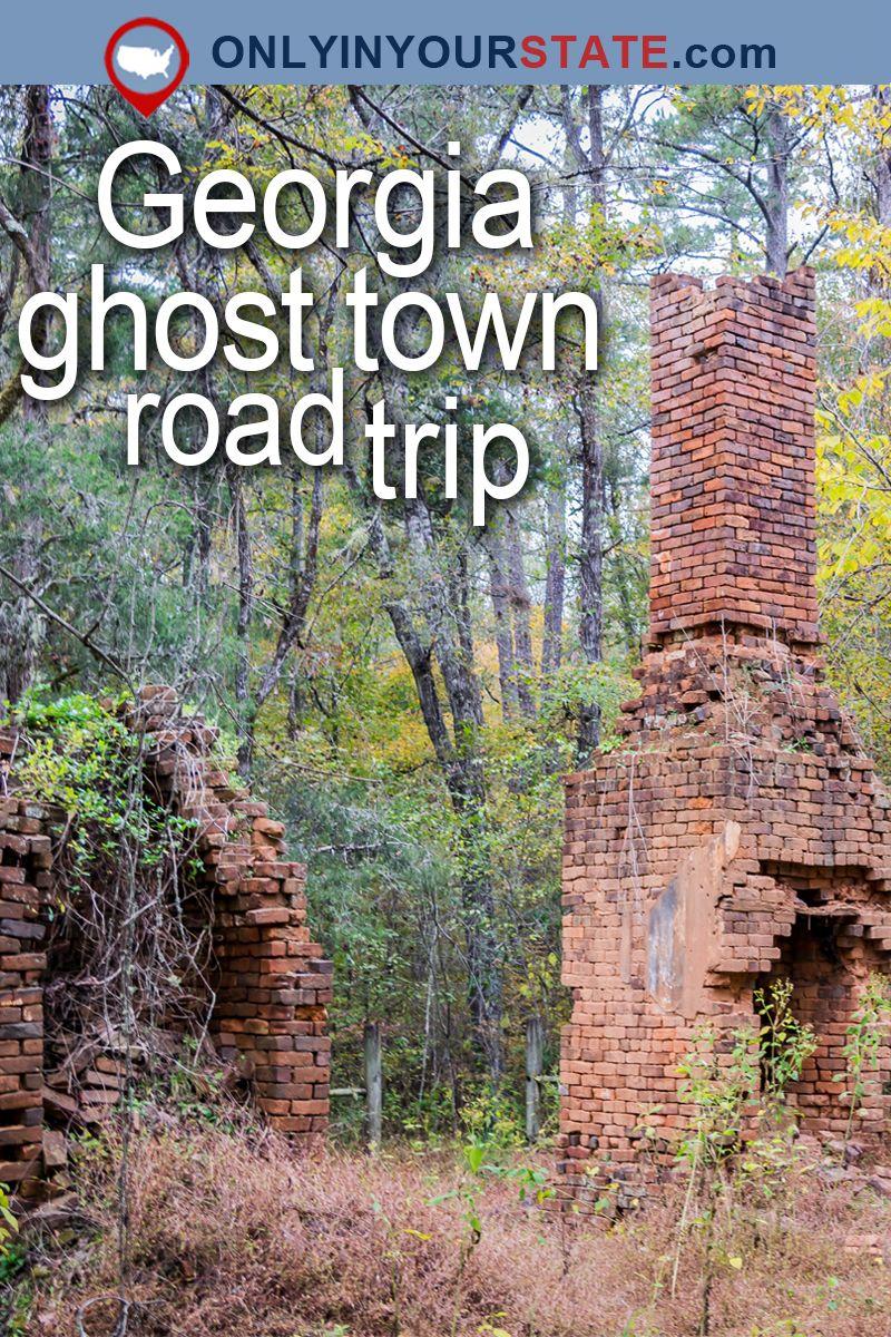 This Haunting Road Trip Through Georgia Ghost Towns Is One