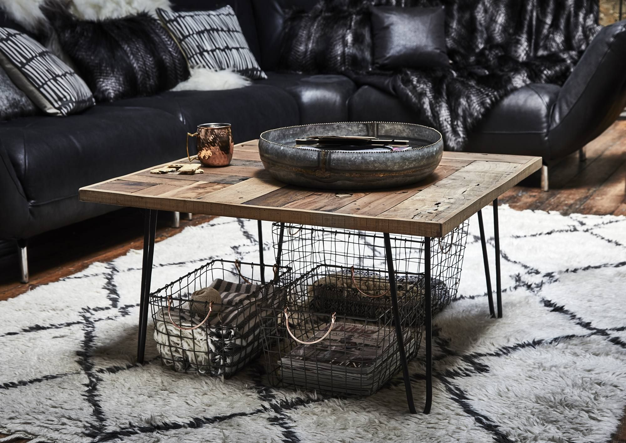 Winnie Reclaimed Wood Square Coffee Table Barker Stonehouse In 2020 Table Wood Square Natural Wood [ 1414 x 2000 Pixel ]