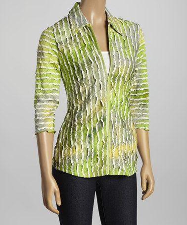 Love this Kiwi Textured Zip Jacket - Women by Sno Skins on #zulily! #zulilyfinds
