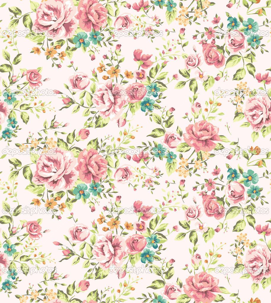 Kawaii Prince Greg On Deviantart Vintage Flowers Wallpaper Vintage Flowers Vintage Flower Backgrounds
